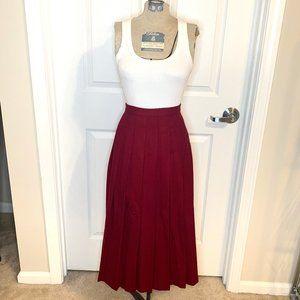 Vintage Pendelton Calf Length Skirt